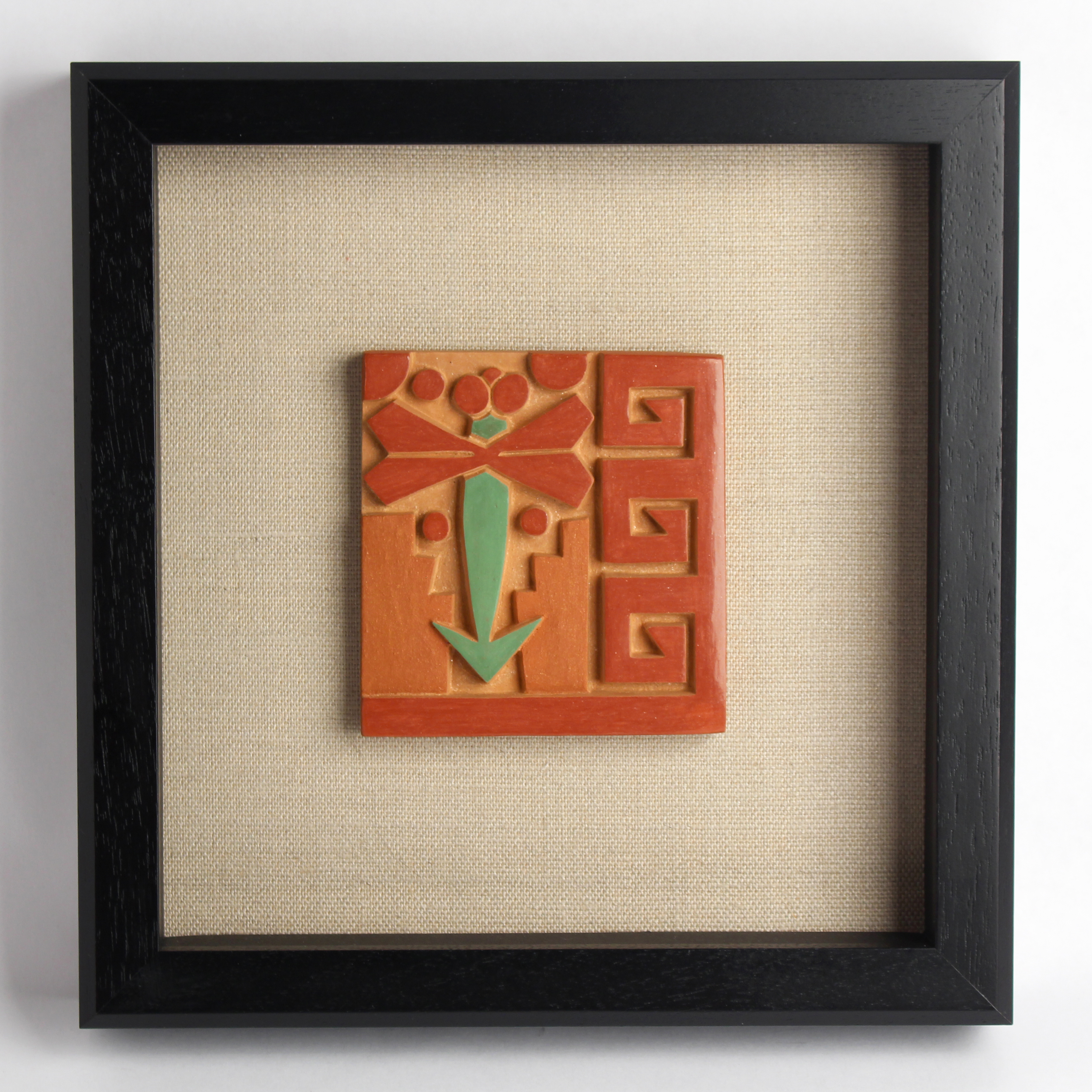 Framed Tile by Autumn Borts-Medlock