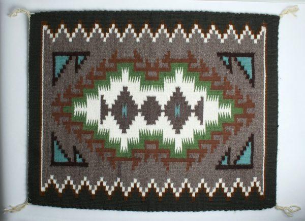 Round Rock Textile by Marlene Chee