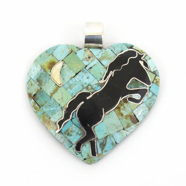 Heart Pendant by Phyllis and Raymond Rosetta
