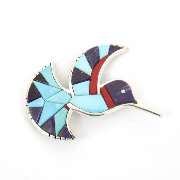Hummingbird Pin by Michael and Cassandra Dukepoo
