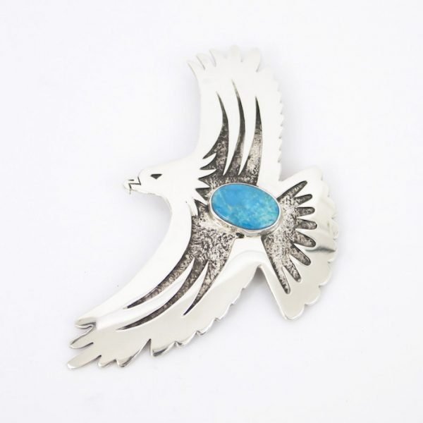 Eagle Pin/Pendant by Duane Maktima