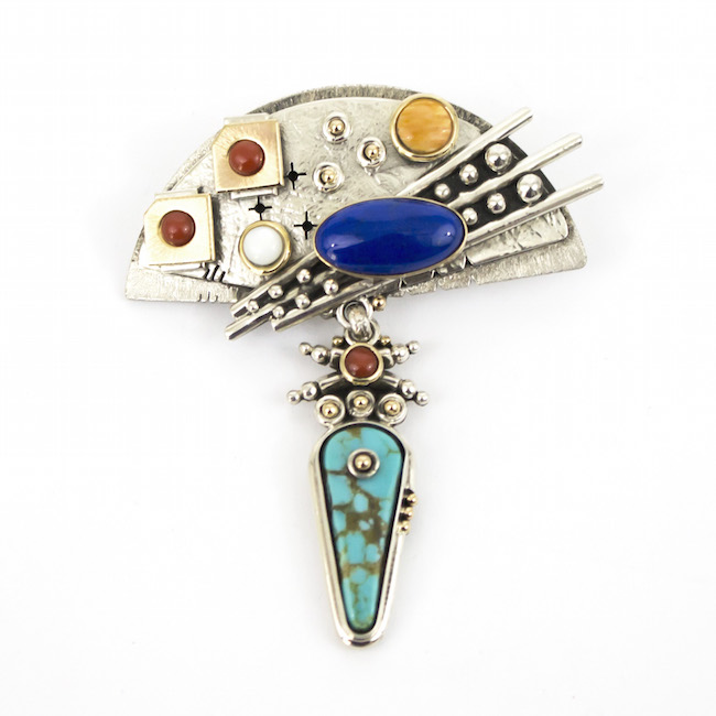 Specialty Pin/pendant by Eugene Nelson
