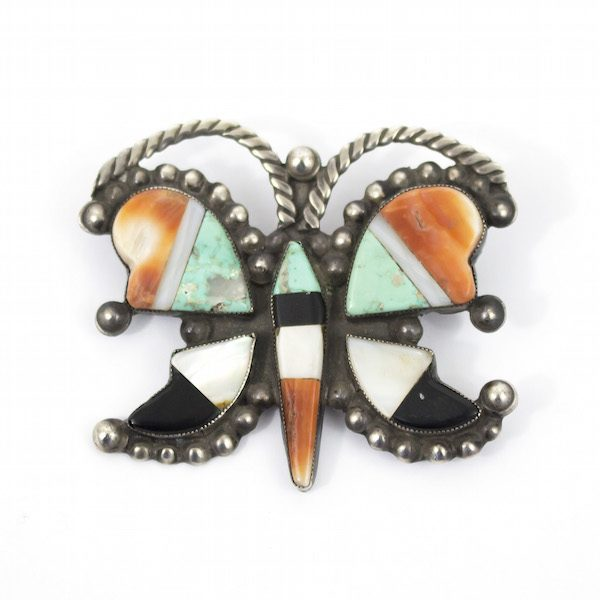 Zuni Butterfly Pin