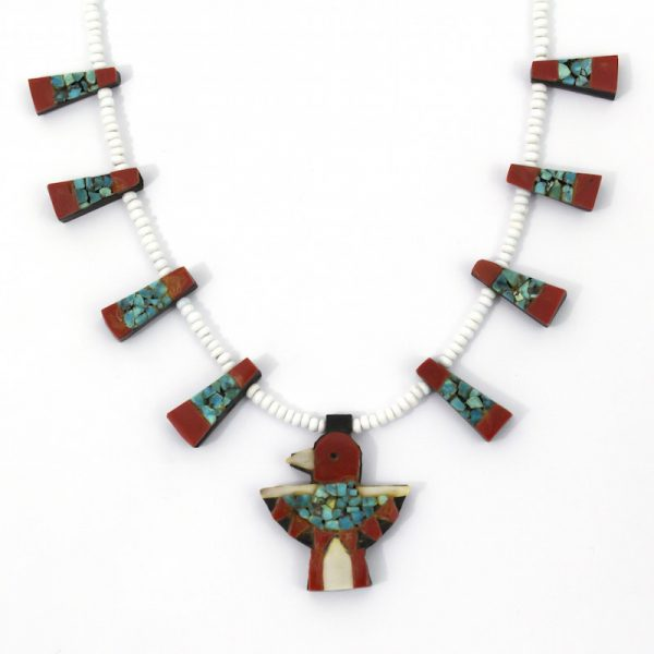 Vintage Santo Domingo Thunderbird Necklace
