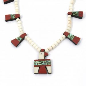 Vintage Santo Domingo Thunderbird Necklace