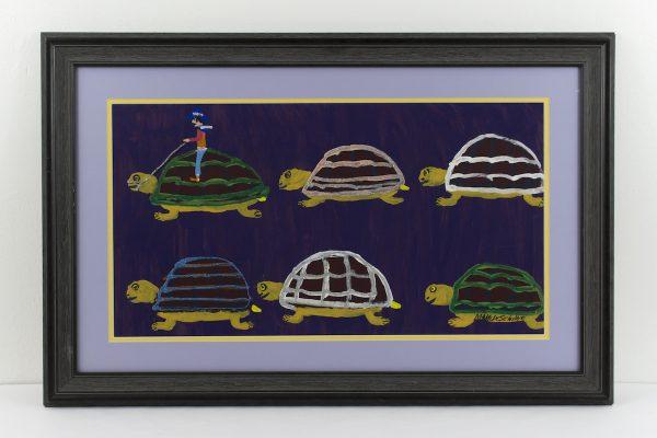 """""""Glittering Turtles"""" by Mamie Deschillie"""