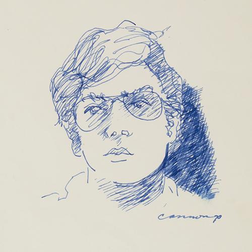T.C. Cannon sketch