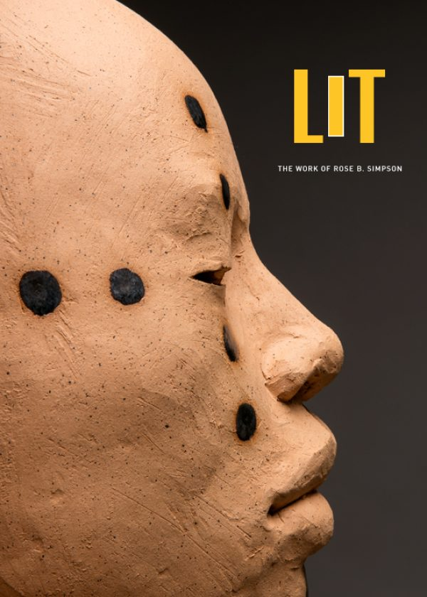 Book cover for LIT: The Work of Rose B. Simpson