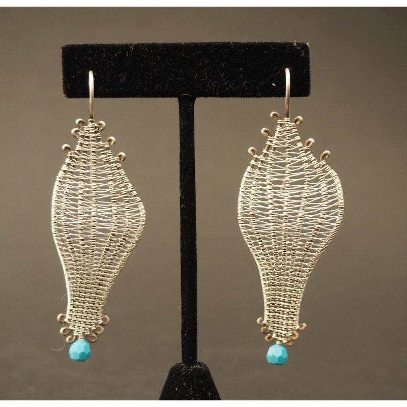 Liz Wallace Soumak Earrings