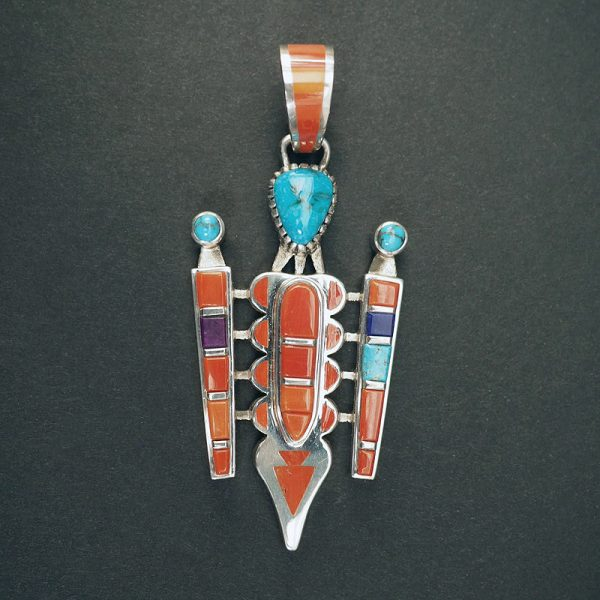 Figurative Pendant with First Place Ribbon by Vernon Haskie