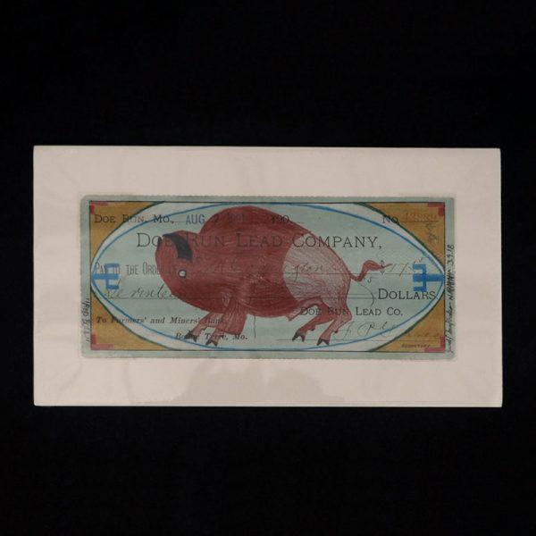 """Red Bull"" Buffalo Ledger Art by Jared Sun Rhodes"