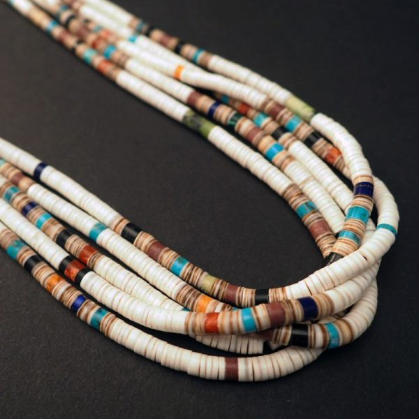"""Confetti"" Multi-strand Heishi Necklace by Deanna Tenorio"