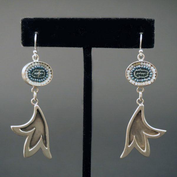 Beaded Earrings by Wendy Boivin