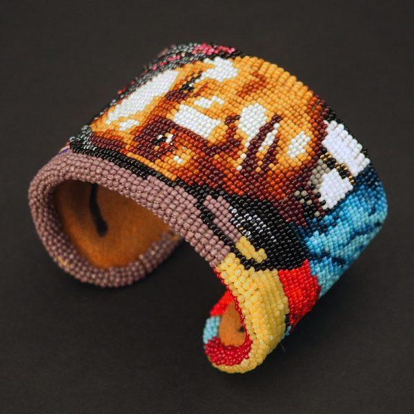 """Cheyenne Man"" Bracelet by Marcus Amerman"