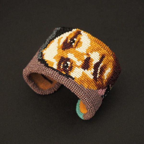 """Umatilla Woman"" Bracelet by Marcus Amerman"