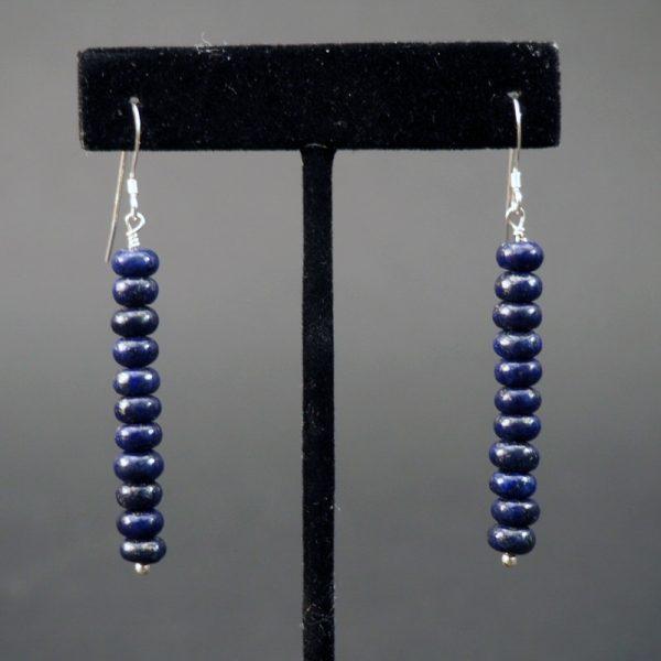 Handmade Lapis Earrings by Raynard Lalo