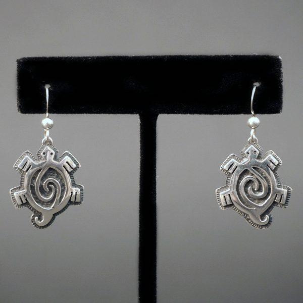 Turtles Earrings by Gerald Lomaventema