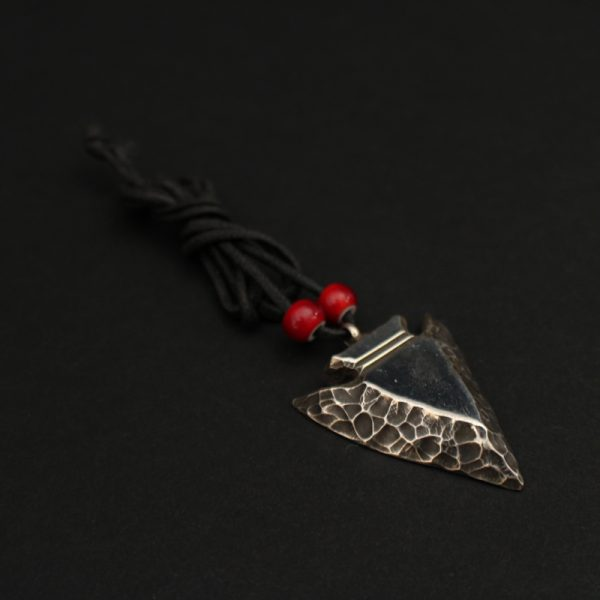 Arrowhead Pendant by Waddie Crazy Horse