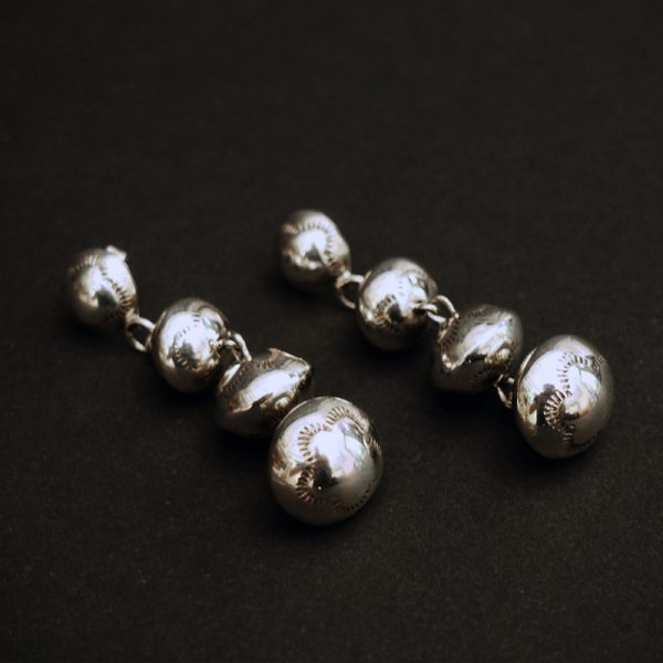 Stamped Bead Dangles by Shirley Yazzie Johnson