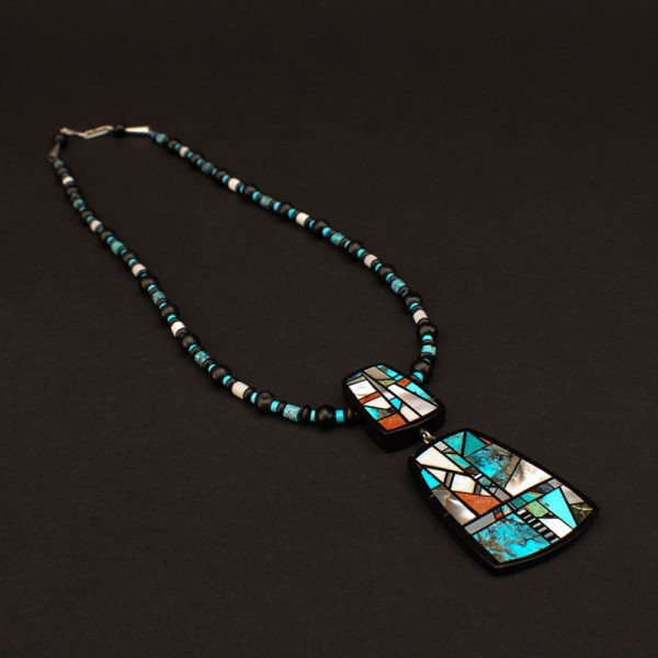 Mixed Mosaic Necklace