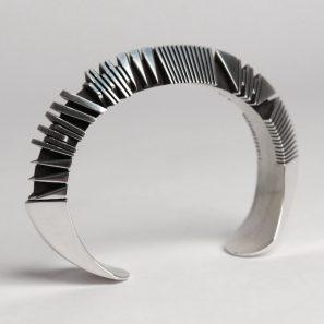 Photo of silver bracelet