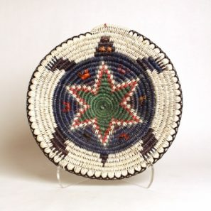 Photo of a Basket with a Turtle Depiction