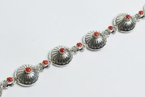 marie_yazzie_silver_coral_stamped_bracelet_1_s