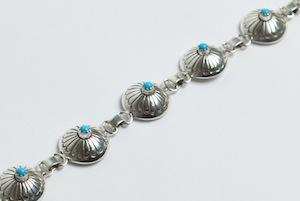 marie_yazzie_silver_turq_stamped_bracelet_1_s